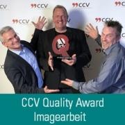 CCV Quality Award für Jens Bestmann udn HeadsetHelden-Kampagne