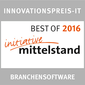 Innovationspreis Branchensoftware 2016