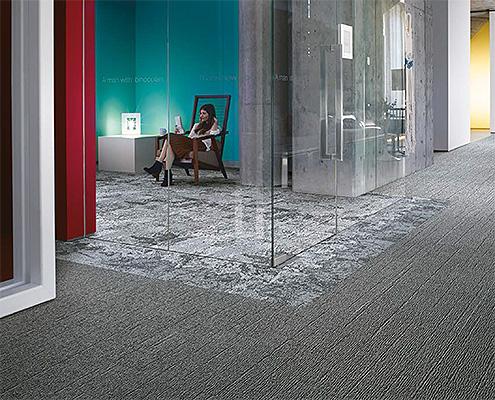 Bodenbelag Teppich Raumakustik