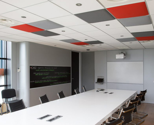 Akustikelemente Konferenzraum
