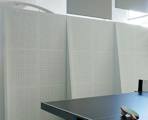 Akustikelemente Raumteiler