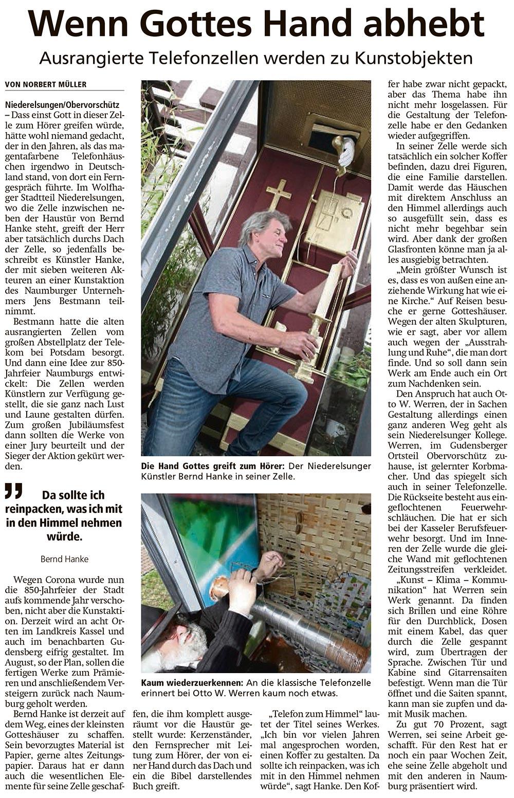 Wolfhager Allgemeine Artikel