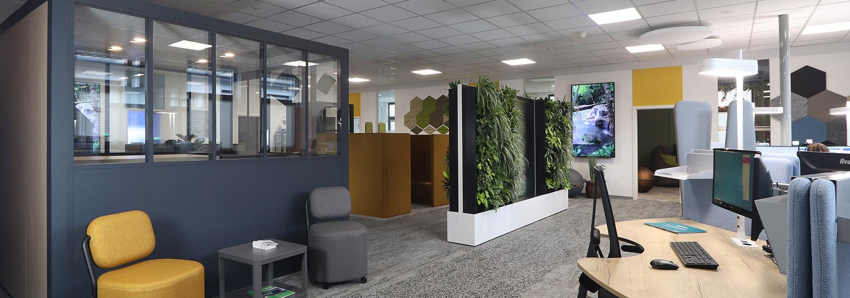 Büroausstellungsfläche bei ProCom-Bestmann