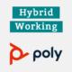 poly Hybrid Working