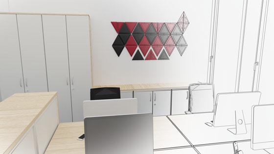 Visualisierung Büroansicht 2