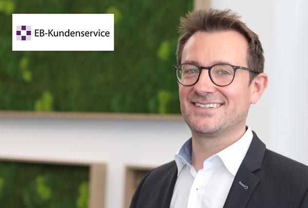 Peer-Ole Läer, Geschäftsführer EB-Kundenservice GmbH, Standort Kassel